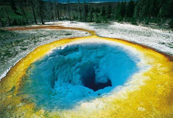 Вулкан Йеллоустоун (Yellowstone). Веб-камера. Live. On-line ...