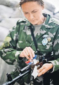 Маргарита Зайдлер в любую минуту была готова отразить атаку киевских карателей